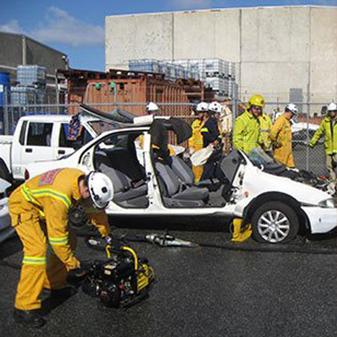 Jaws of Life Car Accident