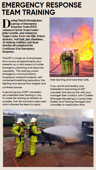 Article on Emergency Response