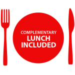 Complementary Lunch Sticker