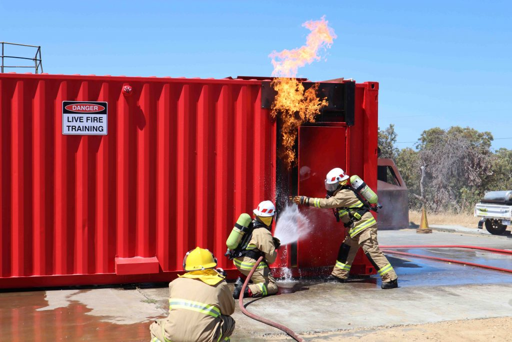 Live Fire Training at SETS Campus